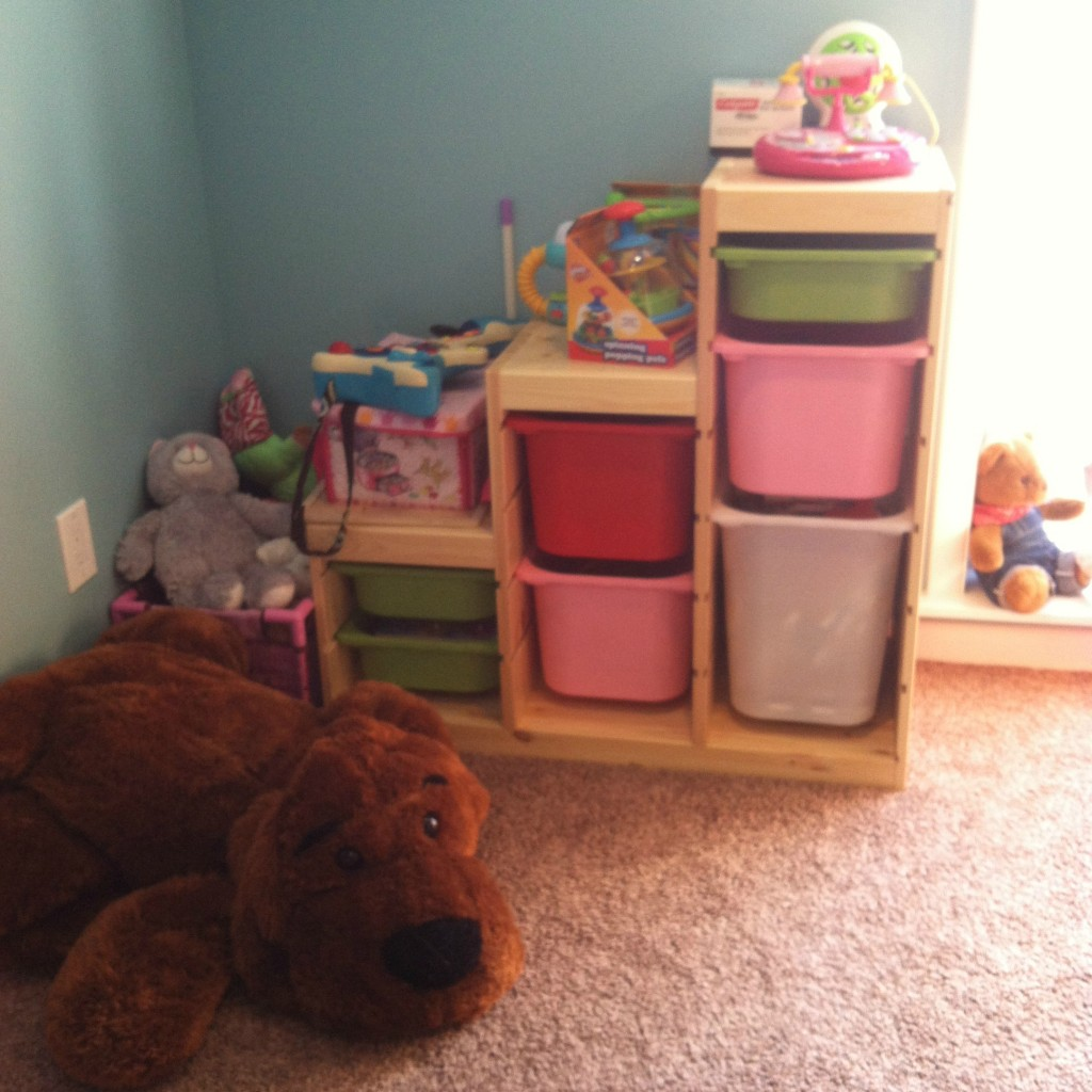 And toy/gear storage too!